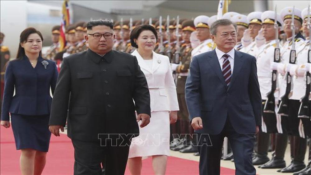 Thượng đỉnh liên Triều: Tổng thống Hàn Quốc bày tỏ lạc quan về kết quả hội nghị